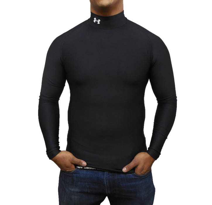 Under armour men 39 s cold gear ua compression mock various for Under armour cold gear shirt mens
